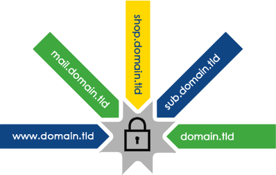 Secure Multiple Subdomains